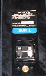 Sony Speaker Blue SS TSB101 Sur L for BDV E770W HT SS370