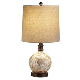 SEA SHELL NAUTICAL BEACH HOUSE COTTAGE CHIC BUFFET ACCENT TABLE LAMPS