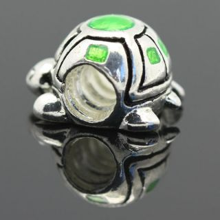 Sterling Silver European Charm Bead for Bracelet Necklace X297C