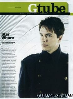 John Barrowman Torchwood Genre Magazine September 2008