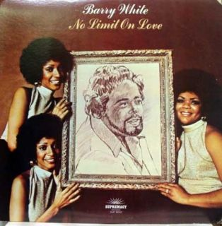 Barry White No Limit on Love LP 1974 Sup 8002 VG