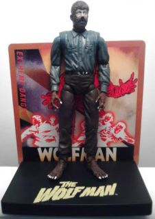 2006 Universal Studios Monsters The Wolfman Wolf Man Werewolf Figure