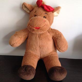 Build A Bear Workshop Moose Plush Holly 17 Brown Stuffed Animal BABW