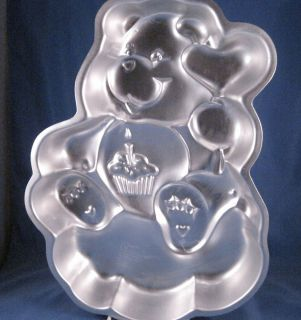 Wilton Cake Pan Birthday Care Bear 1983 2105 1783