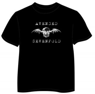 Avenged Sevenfold Death Bat Logo Mens Shirt s 5XL