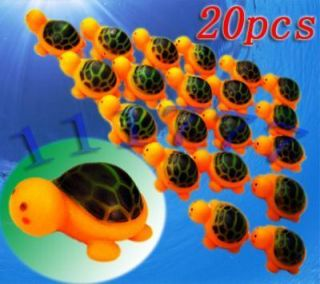 Job Lots of 20 Baby Bath Toys Rubber Tortoises Turtles