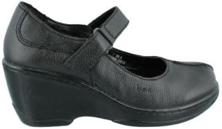 BOC by Born Trudy Comfortable Wedge Heel Jane Leather Womens Mary