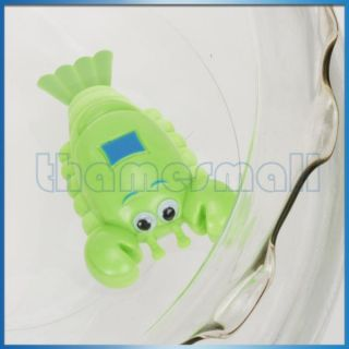 Wind Up Bath Toy Swimming Pool Water Cute Shrimp Toy for Baby Kids Fun