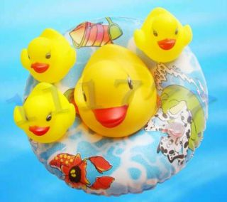 Cute Baby Shower Rubber Duck Doll Bath Toy Yellow New