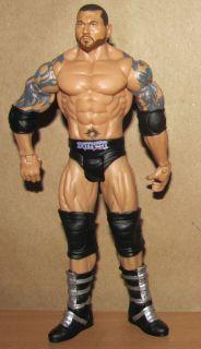 Batista WWE RARE Mattel Basic Style Wrestling Figure WWF Black Gear
