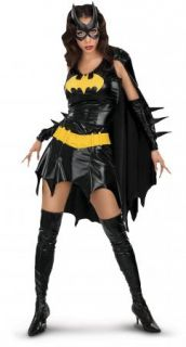 Barbara Gordon Batgirl Deluxe Sexy Superhero Adult Halloween Costume