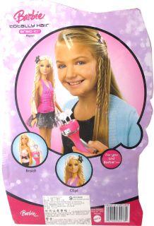 Mattel Barbie Doll Totally Hair Twisty Braids Barbie Set