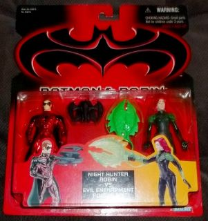 Batman and Robin 2 pack Robin vs. Poison Ivy MOC Clooney 1997