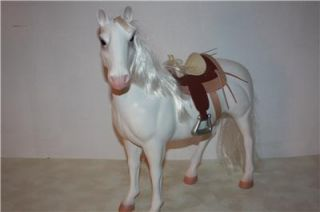 Battat American Girl Doll Size White Horse