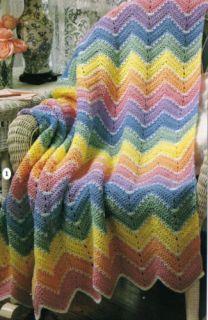 Easy Ripple Crochet Patterns - Online Crochet Instruction