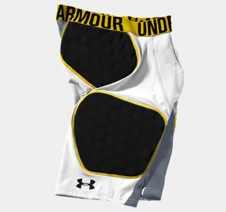 Under Armour Gameday Football Compression Mens Shorts HeatGear Size L