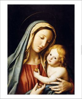 Giovanni Battista Salvi Madonna and Child Canvas Art