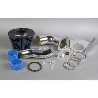 BBK Performance 1712 Air Intake Chrome Tube Blue Filter Ford Mustang 5