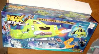 Max Steel MX35 Arctic x Plorer Big Toy SEALED Box