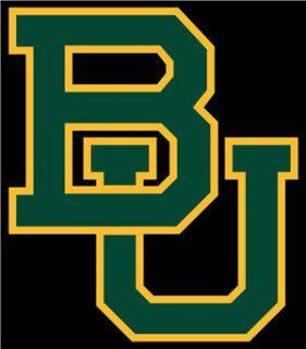 Baylor University Bears Football Coaster Mouse Pad New