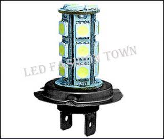 Pair LED H7 High Beam Light Bulbs Audi A6 Avant 99 04