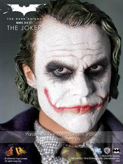 Hot Toys 1 6 Scale Batman The Dark Knight Joker MMS DX01 Plus Extra