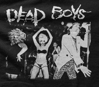 Dead Boys   Stiv Bators & Divine at CBGB 1978   Mens Black T Shirt