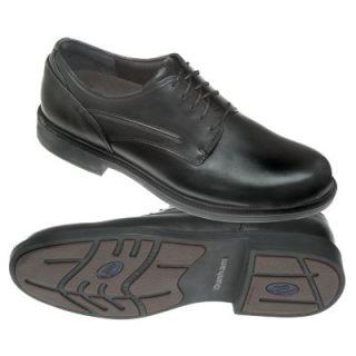 Dunham Mens Battery Park Waterproof Oxford Dress Shoes Black Leather