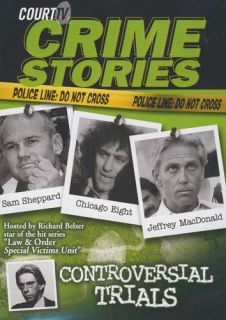 Court TV Crime Stories Controversial Trials New DVD