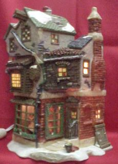 Department 56 Dickens village A Christmas Carol Cratchits Corner House