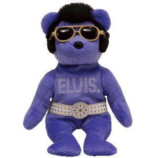 Ty Beanie Baby Beanie Hawaii The Elvis Bear 8 5 inch MWMTS