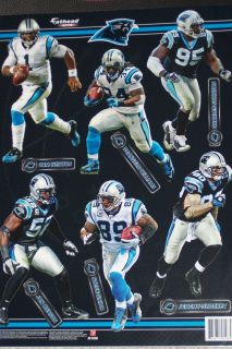 Carolina Panthers Player Mini Fathead Official NFL Vinyl Wall Graphic