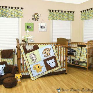 Baby Boy Kid Toddler for Crib Nursery Blanket Theme Bedding Set