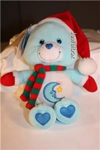 Care Bears Bedtime Bear Holiday Friends New with Tags Collectable Toy