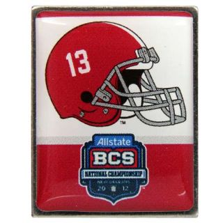 Alabama Crimson Tide 2012 BCS National Championship Game Pin