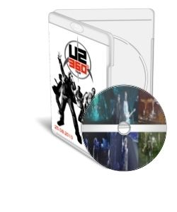U2 Live BD 360 Tour Moscow BSA Luzhniki 25 08 2010 Blu Ray Disc HD