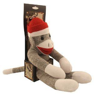 The Original Sock Monkey 16 Stuffed Classic Toy New