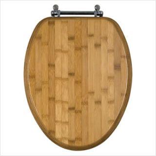 Beneke Magnolia Bamboo Elongated Toilet Seat 1050E