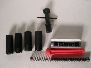 Benelli Shotgun Choke Tubes Wrench Plug Spring Weight Parts