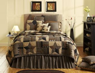 Star Queen Quilt Set Shams Bed Skirt Pillow New Fall 2012
