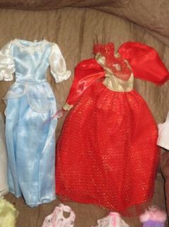 Barbie Doll Clothes Outfit Clothing Huge Lot Vtg RARE 1980s Dress Gown