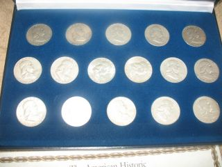 Benjamin Franklin Half Dollar Set 1948 1963