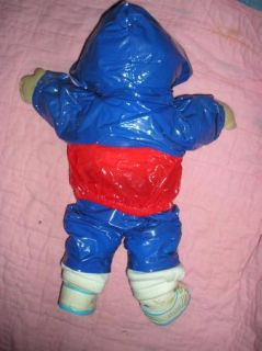 Vintage 80s 1985 Cabbage Patch Kids Boy Blue Eyes Running Suit