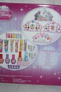 New Disney Princess Jumbo Beauty Center Make Up Case Set Ariel