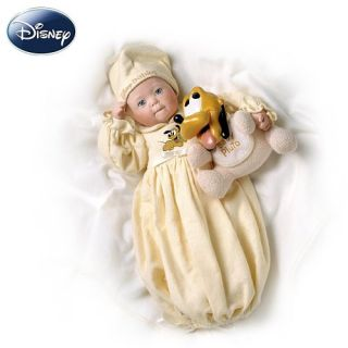 Features of Yolanda Bello Disney Dreamland Baby Pluto Porcelain Baby