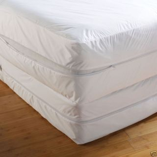 BED BUG Zippered Vinyl Mattress Cover Twin & All Sizes