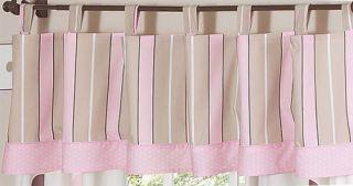 Pink Brown Polka Dot Kid Twin Size Bed Bedding Comforter Set for Girl