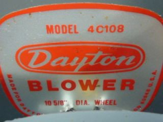 Dayton Belt Drive Fan & Blower Motor 5K901C #37937