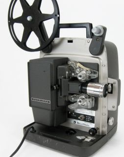 BELL HOWELL 346A SUPER 8MM MOVIE PROJECTOR FILM SERVICED NICE