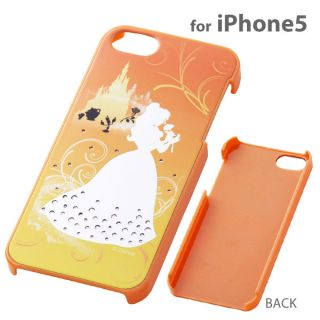 Disney Princess Jewelry Shell Jacket Case Bell for iPhone 5